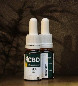 Full spectrum CBD olej 5% LEMON </p>