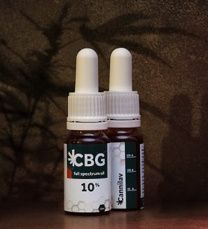 Full spectrum CBG olej 10% </p>