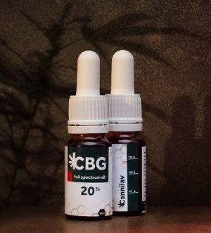 Full spectrum CBG olej 20% </p>